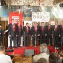 Prvi koncert okteta 24. aprila 2003 (Restavracija Bellevue Slovenmj Gradec)