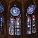 Vitraji v Notre Dame