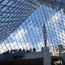 Piramida nad vhodom v Louvre