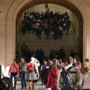 Louvre, novembrska gneča