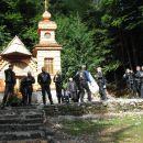 Izlet Vršič in Mangart 2006
