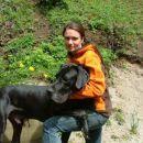 Moja najboljša prijateljica Irena in njen ljubljenček Kastor