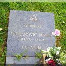 Spomen ploča-nišan Husniji Mujkanoviču na jeseničkom groblju. Husnija je zadnje dane agres