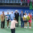 Finalistke dvojic: Jelena Kostanić, Katarina Srebotnik, Roberta Vinci in Anabel Medina Gar