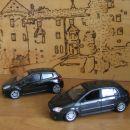 Renault Clio RS & Toyota Corolla TS 1/43