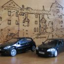 Renault Clio RS & Toyota Corolla TS 1/43
