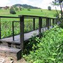 Mostiček čez potok Reka - Šmartno pri Litiji