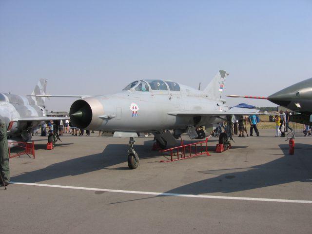 Srbsko vojno letalstvo - Mig 21