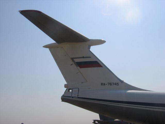 Rusko vojno letalstvo - Ilyushin Il-76