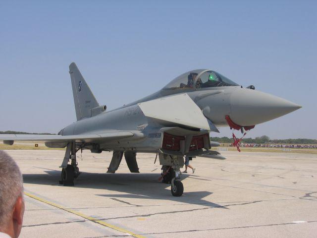 Italijansko vojno letalstvo - Eurofighter Typhoon