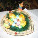 Tudi tole je nastalo letos, vendar ti jajčki,so v moji kuhinji.