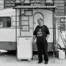 Parkiriščnik v Pešti.