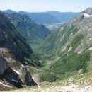 Pogled na Balo, Bavsico in Bovec.
