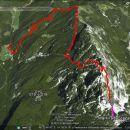Pot od Škrbine čez Krofičko, Strelovec do Plesnika v dolini.