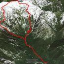 2483 m skupnega vzpona in toliko spusta in 14,6km iz Kamniške Bistrice.