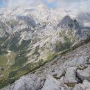 Pogled z Tosca proti Veljski dolini, to bo treba obiskati.