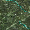 6,7km Log- do starta-Pasja ravan, 30,1km P R-Dražgoše, 1737m vzpona in 1365 spusta