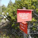 Na Bašeljski vrh 1744m.