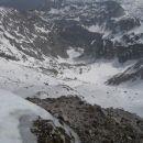 Krnsko jezero še pod snegom