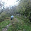 Pot na greben