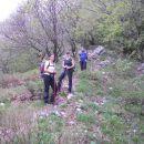 Pot na grebenu