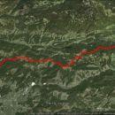 33,8 km, 815 m vzpona in 1045 m spusta.
