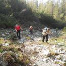 Pot proti planini Korošici