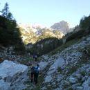 Pot proti planini Jezerce