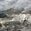 Razgled proti dolini Triglavskih jezer in Prehodavcem
