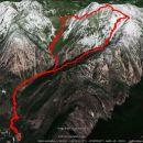Skozi Repov kot čez Srebrno sedlo na Planjavo, 21km in 1860m vzpona.