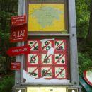 Informativna tabla na parkirišču