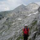 Začetek poti v plezalni del