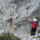 Plezalni del čez Škrbino