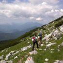Pot proti Bistriški špici
