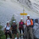 Že smo pripravljeni na plezanje :D