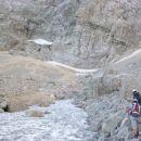 Pot proti Frischaufovi poti na Grintovec