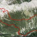 Vršič,Goličica,Jalovec,Špiček,izvir soče,19,6km,1377 vzpona in 2094 spusta