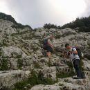 Pot proti Bivaku IV na Rušju