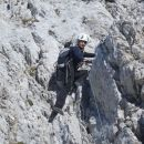 Plezalni del poti na Lipnico