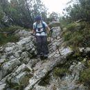 Pot s Špika skozi gozd