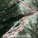 Prehojeno 18,2 km in 1540 m vzpona in toliko spusta.