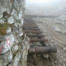 Zavarovana pot na Krofičko
