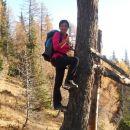 Plezalna pot na drevo :p