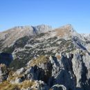 Pogled na Tosc (levo) in Veliki Draški vrh (desno)