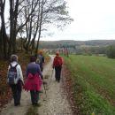 Pogled na Selo-točke razširjene slo. planinske poti.