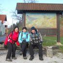 Začetek poti v Topolu pri Medvodah