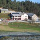 Pogled na Turistično kmetijo Gonte