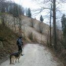 Pot nazaj proti Podmeji