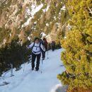 Nadaljnja pot po snegu