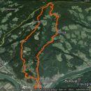17,6 km in 1260 m vzpona po zasneženem Košenjaku.